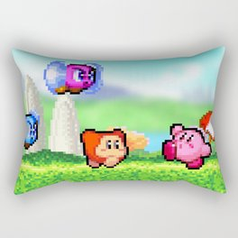 Kirby in Dreamland Rectangular Pillow