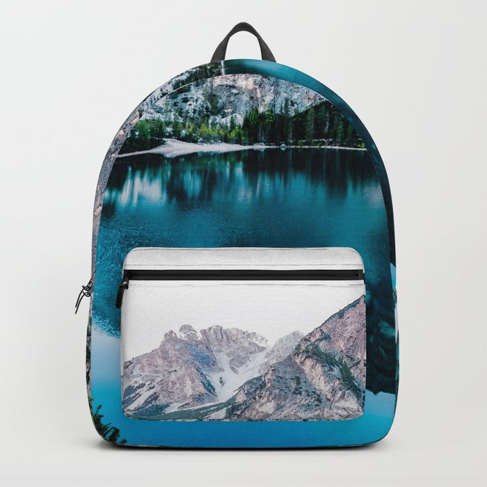 Glossy Tranqulity Backpack