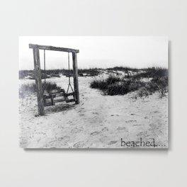 Beached Metal Print