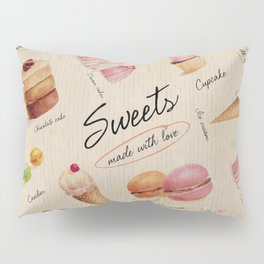 Sweets & Desserts Pillow Sham