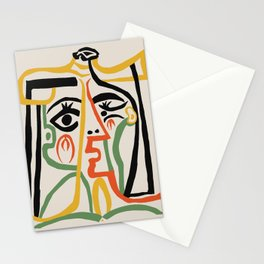 Picasso - Woman's head #1 Stationery Cards