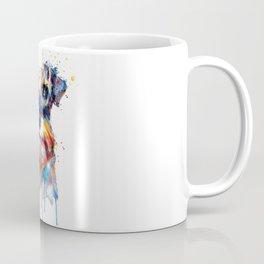 Schnauzer Head Watercolor Portrait Coffee Mug