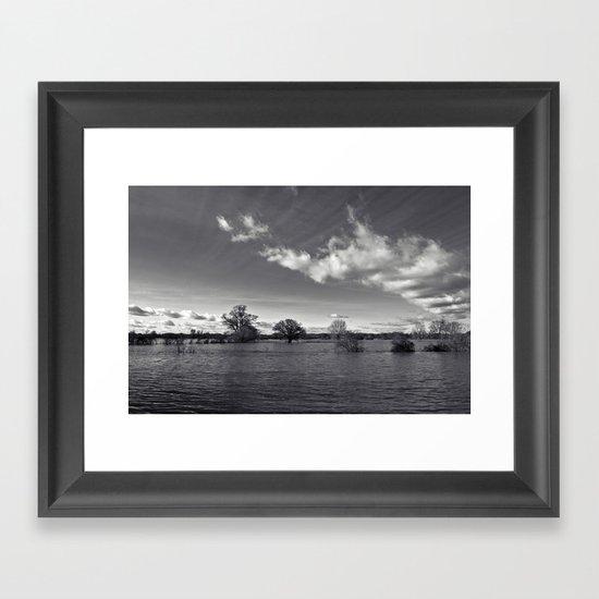water world... Framed Art Print