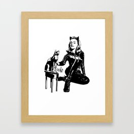 Cat-tastic Framed Art Print