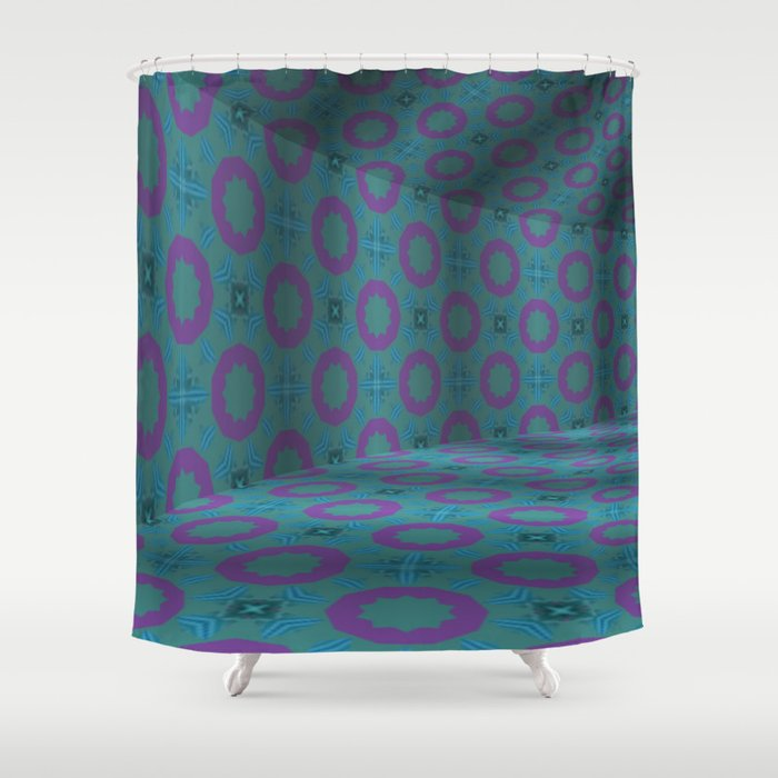 Iconic Hollows 2 Shower Curtain