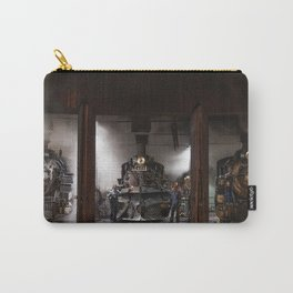 Locomotives Photograph Carry-All Pouch