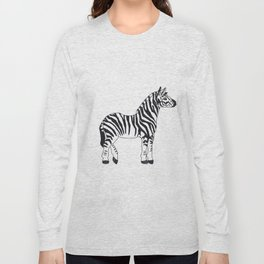 Zebra Stan Long Sleeve T-shirt