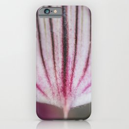Slipper Orchid iPhone Case