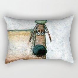 Careful Rectangular Pillow