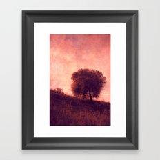 solitary Framed Art Print