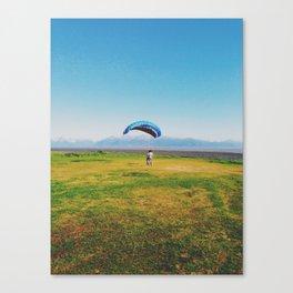 Para-sailing in Alaska Canvas Print