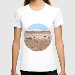 Vultures on Donkey T-shirt
