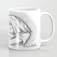 cuddle Mugs featuring Cuddle by Mark Holden