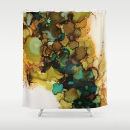 Earthy moment Shower Curtain