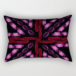 Union Bug Flag Rectangular Pillow