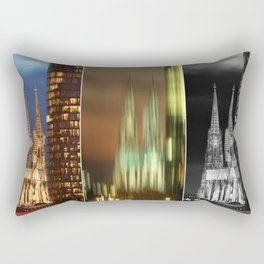 cologne cathedral Rectangular Pillow