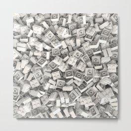 LEGO Bricks Metal Print