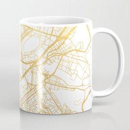 ATHENS GREECE CITY STREET MAP ART Coffee Mug