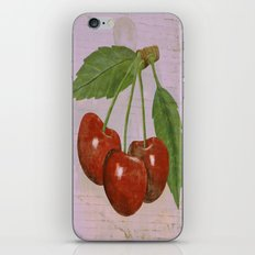 Cherries iPhone & iPod Skin