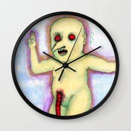 Golden Child Wall Clock