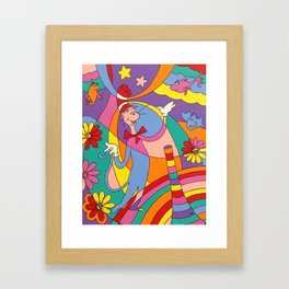 Oh to Dr. Seuss Framed Art Print