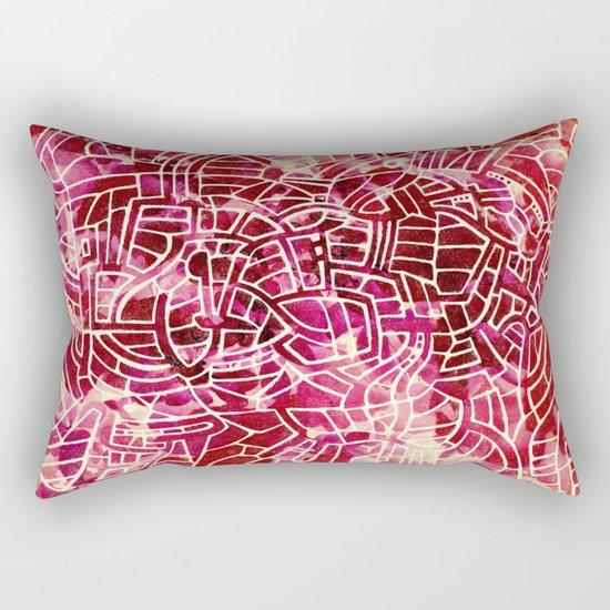 - red palace - Rectangular Pillow