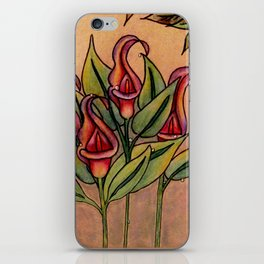 Lilly Dew in Pink iPhone Skin