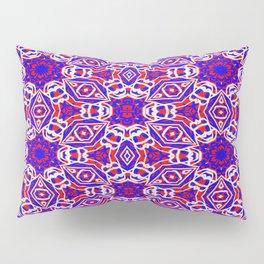 Red, White and Blue Diamonds 242 Pillow Sham