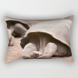 Cute Galapagos Tortoise Rectangular Pillow