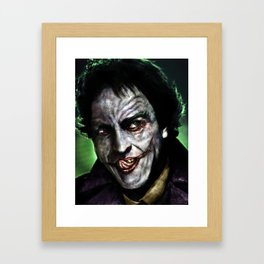 The Man Who Laughs Framed Art Print