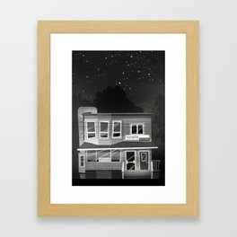 Places I've Lived Series - 10 Framed Art Print