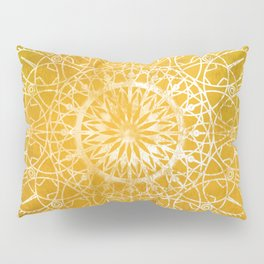 Fire Blossom - Yellow Pillow Sham