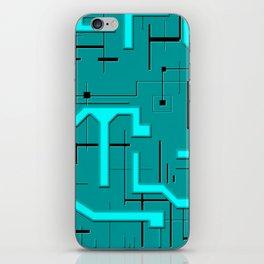 Emerald Voltage iPhone Skin