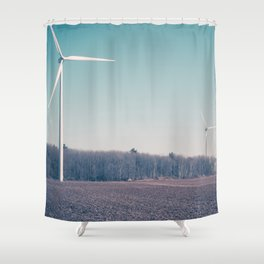 The Invaders I Shower Curtain