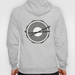 Drum with drumsticks Hoody