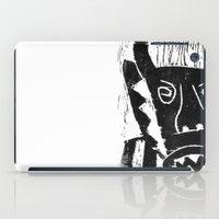 bull iPad Cases featuring Bull by Hadar Geva