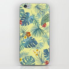Palm Leaves Pattern 4 iPhone & iPod Skin