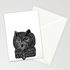 Cool owl Stationery Cards