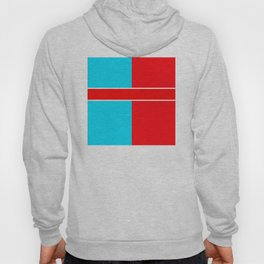 Team Colors 6..red,light blue Hoody