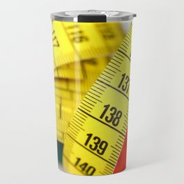 Measuring tape Travel Mug