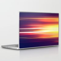 sonic Laptop & iPad Skins featuring Super Sonic by Emily Day