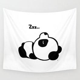 Sleeping Baby Panda Kawaii AWWW! Wall Tapestry