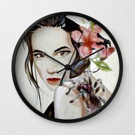 Purple Tarantula Wall Clock