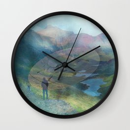 What is Reality? #2, Fun UFO image Wall Clock