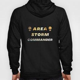 Area Storm Commander Alien UFO Space 51 Hoody