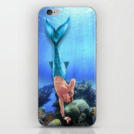 Merman Derek iPhone Skin