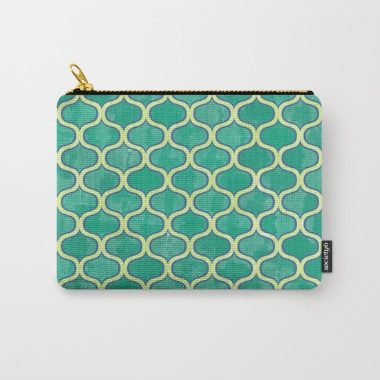 Watercolor Lovely Pattern VVV Carry-All Pouch