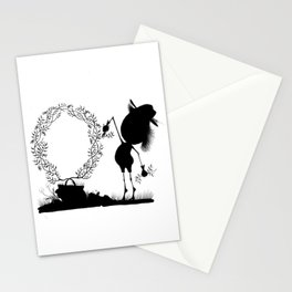 The Letter O Stationery Cards