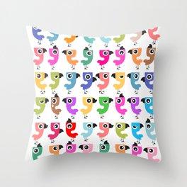 Bird is the Word! Throw Pillow