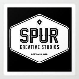 Spur Creative Studios trucker cap Art Print